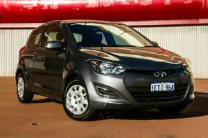 2015 Hyundai i20 PB MY16 Active Grey 6 Speed Manual Hatchback Fremantle Fremantle Area Preview