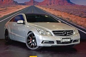 2010 Mercedes-Benz E250 CDI Silver Sports Automatic Coupe Tweed Heads Tweed Heads Area Preview