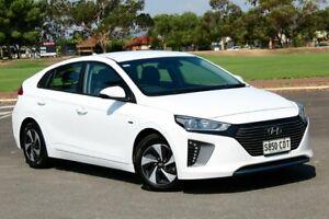 2018 Hyundai Ioniq AE.2 MY19 hybrid DCT Elite White 6 Speed Sports Automatic Dual Clutch Fastback