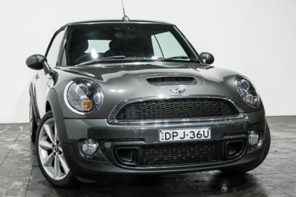 2014 Mini Cabrio R57 LCI Cooper S Grey 6 Speed Manual Convertible