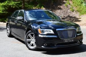 2012 Chrysler 300 LX MY12 C Black 5 Speed Sports Automatic Sedan St Marys Mitcham Area Preview