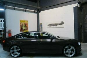 2013 Audi A5 8T MY14 Sportback Multitronic Brown 8 Speed Constant Variable Hatchback