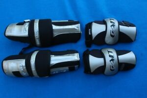 Gait by DeBeer box lacrosse elbow & knee guard guards in excelle