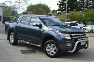 2014 Ford Ranger XLT Grey 6 Speed Automatic Dual Cab Beaudesert Ipswich South Preview