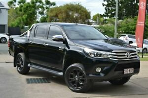 2015 Toyota Hilux Black 6 Speed Automatic Dual Cab Beaudesert Ipswich South Preview