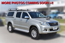 2012 Toyota Hilux KUN26R MY12 SR5 Double Cab Sterling Silver 4 Speed Automatic Utility Pakenham Cardinia Area Preview