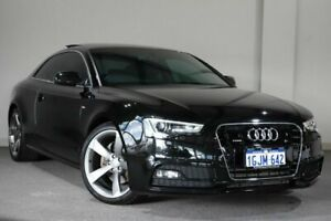 2015 Audi A5 8T MY15 S Tronic Quattro Black 7 Speed Sports Automatic Dual Clutch Coupe Bayswater Bayswater Area Preview