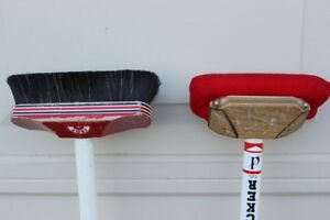 Curling equipment: Broom brush Asham Rocker to sweep the iceBro