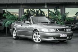 2003 Saab 9-3 MY2003 Aero Silver 4 Speed Automatic Convertible Bowen Hills Brisbane North East Preview