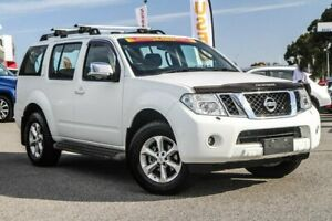 2012 Nissan Pathfinder R51 MY10 TI White 5 Speed Sports Automatic Wagon Cannington Canning Area Preview