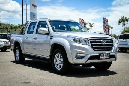 2017 Great Wall Steed NBP 4x2 Silver 6 Speed Manual Utility