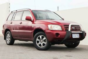 2005 Toyota Kluger MCU28R CV AWD Red 5 Speed Automatic Wagon Wangara Wanneroo Area Preview