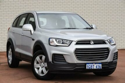 2016 Holden Captiva CG MY16 LS 2WD Silver 6 Speed Sports Automatic Wagon Bayswater Bayswater Area Preview