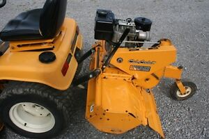 Riding Lawn Mower / Garden Tractor with Rotor Tiller *New Price* Peterborough Peterborough Area image 3