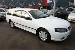 2010 Ford Falcon BF Mk III XT White 4 Speed Sports Automatic Wagon