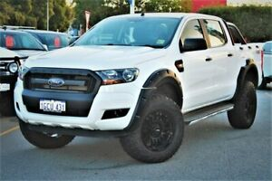 2016 Ford Ranger PX MkII XL Double Cab White 6 Speed Sports Automatic Utility Midland Swan Area Preview
