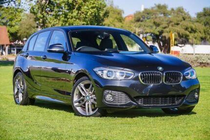 2018 BMW 120i F20 LCI-2 M Sport Steptronic Black 8 Speed Sports Automatic Hatchback Burswood Victoria Park Area Preview