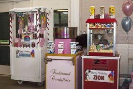 Slush Machine, Candy Floss Machine, Popcorn Machine, Waffle Machine, Mascots & many more