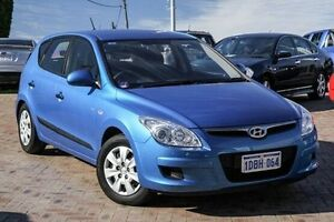 2009 Hyundai i30 FD MY09 SX Blue 4 Speed Automatic Hatchback Embleton Bayswater Area Preview