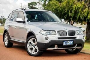 2010 BMW X3 E83 MY10 xDrive25i Steptronic Lifestyle Silver 6 Speed Automatic Wagon Wangara Wanneroo Area Preview