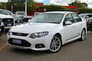 2013 Ford Falcon FG MkII XR6 White 6 Speed Sports Automatic Sedan Midland Swan Area Preview