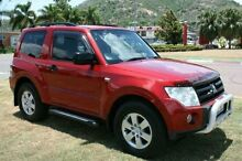 2006 Mitsubishi Pajero NS R Red 5 Speed Sports Automatic Hardtop Townsville Townsville City Preview