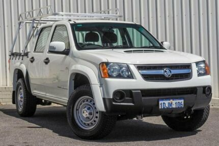 2010 Holden Colorado RC MY10 LX (4x4) White 4 Speed Automatic Crew Cab Pickup