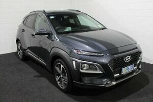 2020 Hyundai Kona OS.3 MY20 Highlander D-CT AWD Grey 7 Speed Sports Automatic Dual Clutch Wagon Glenorchy Glenorchy Area Preview