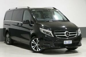2017 Mercedes-Benz V250d 447 MY17 Avantgarde MWB Black 7 Speed Automatic Wagon Bentley Canning Area Preview