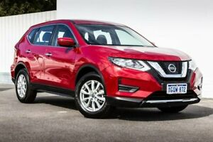 2017 Nissan X-Trail T32 Series II ST X-tronic 4WD Red 7 Speed Constant Variable Wagon Maddington Gosnells Area Preview