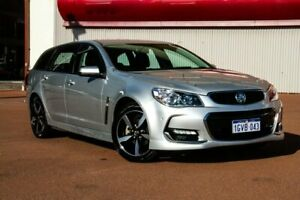 2017 Holden Commodore VF II MY17 SV6 Sportwagon Silver 6 Speed Sports Automatic Wagon Fremantle Fremantle Area Preview