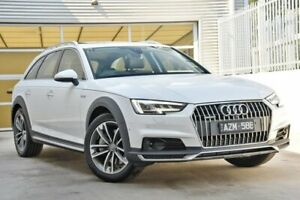 2019 Audi A4 B9 8W MY19 Allroad S Tronic Quattro Ultra 45 TFSI White 7 Speed Berwick Casey Area Preview