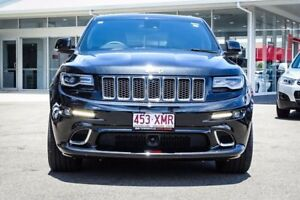2015 Jeep Grand Cherokee WK MY15 SRT Brilliant Black Crystal Pearl 8 Speed Sports Automatic Wagon