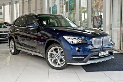 2014 BMW X1 E84 MY0314 sDrive20i Blue 8 Speed Sports Automatic Wagon