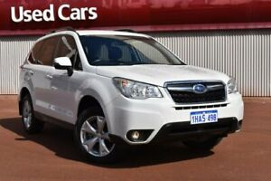 2015 Subaru Forester S4 MY15 2.5i-L CVT AWD White 6 Speed Constant Variable Wagon Fremantle Fremantle Area Preview