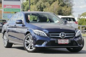 2019 Mercedes-Benz C-Class W205 800MY C200 9G-Tronic Cavansite Blue 9 Speed Sports Automatic Sedan Upper Mount Gravatt Brisbane South East Preview