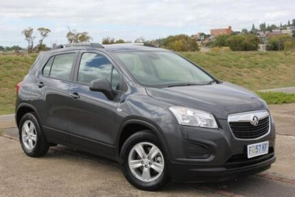 2016 Holden Trax TJ MY16 LS Grey 6 Speed Automatic Wagon Invermay Launceston Area Preview