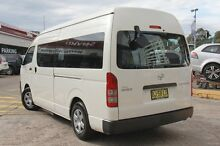 2011 Toyota Hiace TRH223R MY11 Upgrade Commuter White 4 Speed Automatic Bus Wolli Creek Rockdale Area Preview
