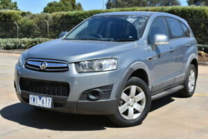 2011 Holden Captiva CG Series II 7 SX Silver 6 Speed Sports Automatic Wagon Brooklyn Brimbank Area Preview