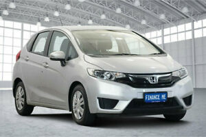 2014 Honda Jazz GF MY15 VTi Silver 5 Speed Manual Hatchback Victoria Park Victoria Park Area Preview