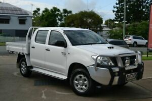 2009 Toyota Hilux SR White 5 Speed Manual Dual Cab Beaudesert Ipswich South Preview
