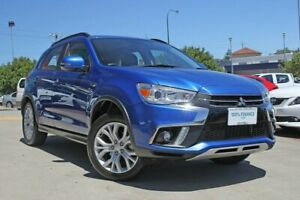 2018 Mitsubishi ASX XC MY19 ES ADAS ( 2WD) Blue Continuous Variable Wagon