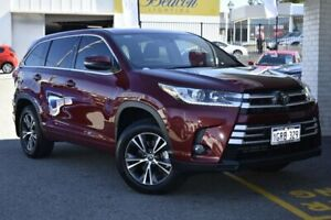 2018 Toyota Kluger GSU50R GX 2WD Red 8 Speed Sports Automatic Wagon Nedlands Nedlands Area Preview
