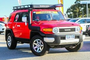 2016 Toyota FJ Cruiser GSJ15R MY14 Red 5 Speed Automatic Wagon Cannington Canning Area Preview