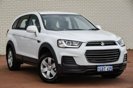 2016 Holden Captiva CG MY16 LS 2WD White 6 Speed Sports Automatic Wagon Bayswater Bayswater Area Preview