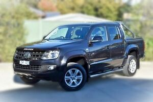 2012 Volkswagen Amarok 2H MY13 TDI420 4Motion Perm Highline Black 8 Speed Automatic Utility Berwick Casey Area Preview