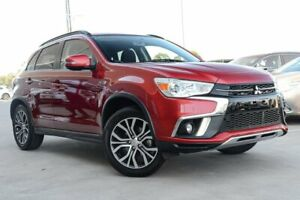 2018 Mitsubishi ASX XC MY18 LS 2WD ADAS Red 6 Speed Constant Variable Wagon