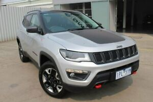 2018 Jeep Compass M6 MY18 Trailhawk Grey 9 Speed Automatic Wagon Hallam Casey Area Preview