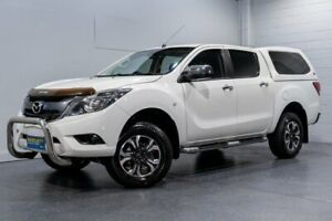 2017 Mazda BT-50 MY16 XTR (4x4) White 6 Speed Automatic Dual Cab Utility Woodridge Logan Area Preview
