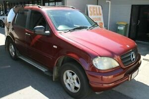 2000 Mercedes-Benz ML320 W163 MY2000 Luxury Maroon 5 Speed Sports Automatic Wagon Bungalow Cairns City Preview
